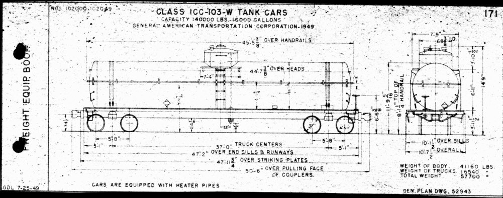 Np Tank Car Diagrams All Pictures